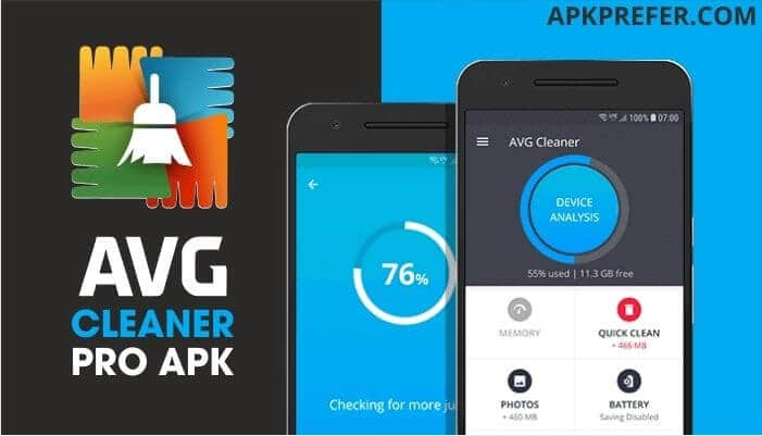 AVG CLEANER PROFESSIONAL APK FOR ANDROID AND IOS