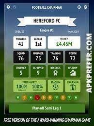 FOOTBALL CHAIRMAN PRO APK 2021 Latest (Unlimited Money, Mod) 1