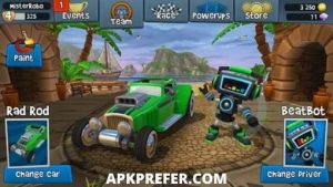 Beach Buggy Racing 2 Apk 2021 Download (Unlimited Money,Shopping) 4